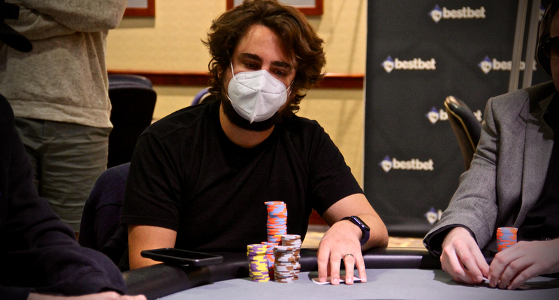 2021 Card Player Poker Tour bestbet Jacksonville: Jeremy Joseph Leads After Day 1A