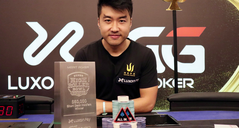 Santi Jiang Wins 2021 Super High Roller Bowl Europe $50,000 Brief Deck Poker Occasion For $756,000